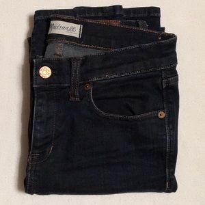 Madewell Dark Wash Skinny Skinny Jeans sz 27
